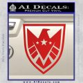 Revengers Real Shield Ultra on Decal Sticker Red Vinyl 120x120