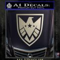 Revengers Real Shield Ultra on Decal Sticker Silver Vinyl 120x120