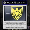 Revengers Real Shield Ultra on Decal Sticker Yelllow Vinyl 120x120