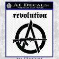 Revolution Assault Rifle Decal Sticker Black Logo Emblem 120x120