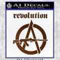 Revolution Assault Rifle Decal Sticker Brown Vinyl 120x120