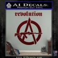 Revolution Assault Rifle Decal Sticker Dark Red Vinyl 120x120