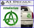 Revolution Assault Rifle Decal Sticker Green Vinyl 120x97