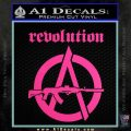 Revolution Assault Rifle Decal Sticker Hot Pink Vinyl 120x120