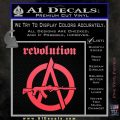 Revolution Assault Rifle Decal Sticker Pink Vinyl Emblem 120x120