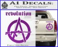 Revolution Assault Rifle Decal Sticker Purple Vinyl 120x97