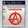 Revolution Assault Rifle Decal Sticker Red Vinyl 120x120
