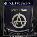 Revolution Assault Rifle Decal Sticker Silver Vinyl 120x120