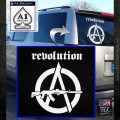 Revolution Assault Rifle Decal Sticker White Emblem 120x120