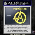 Revolution Assault Rifle Decal Sticker Yelllow Vinyl 120x120