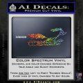 Road Runner Smoke Decal Sticker Sparkle Glitter Vinyl 120x120