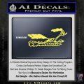 Road Runner Smoke Decal Sticker Yelllow Vinyl 120x120