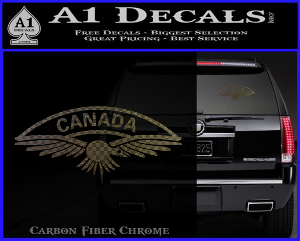 Royal Canadian Air Force Canada Army Military Car Decal Sticker