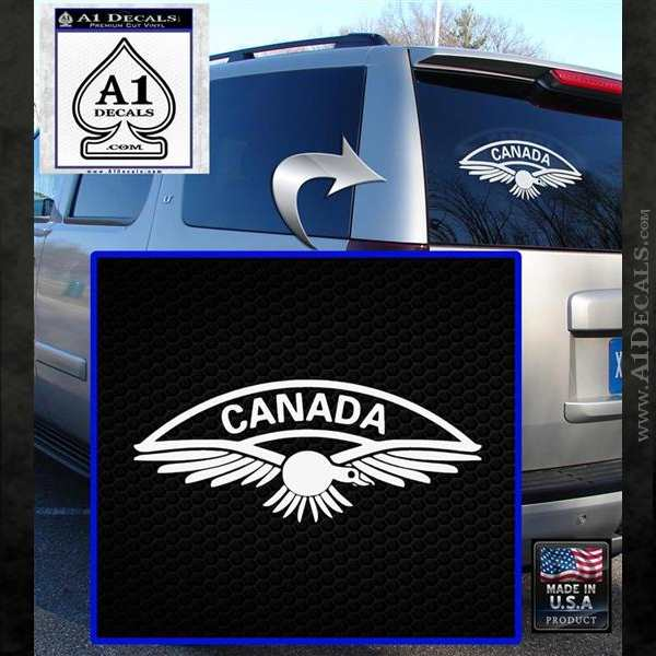 Royal Canadian Air Force Canada Army Military Decal