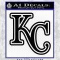 Royals Logo Decal Sticker KC Black Logo Emblem 120x120