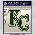 Royals Logo Decal Sticker KC Dark Green Vinyl 120x120