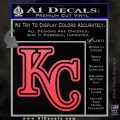Royals Logo Decal Sticker KC Pink Vinyl Emblem 120x120