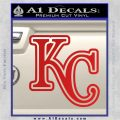 Royals Logo Decal Sticker KC Red Vinyl 120x120