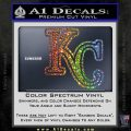 Royals Logo Decal Sticker KC Sparkle Glitter Vinyl 120x120