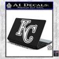 Royals Logo Decal Sticker KC White Vinyl Laptop 120x120