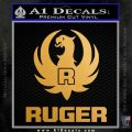 Ruger Decal Sticker ST2 Metallic Gold Vinyl Vinyl 120x120