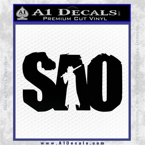 Sao Sword Art Online Decal Sticker Dza 187 A1 Decals