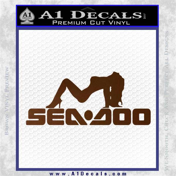Sea Doo Sexy Girl Logo Decal Sticker 187 A1 Decals