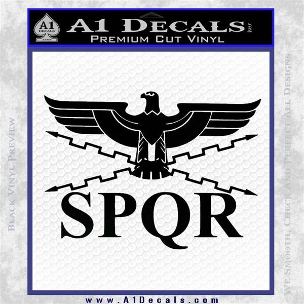 Spqr Ancient Roman Military Decal Sticker 187 A1 Decals