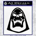Skeletor Decal Sticker He Man D2 Black Logo Emblem 120x120