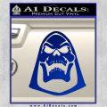 Skeletor Decal Sticker He Man D2 Blue Vinyl 120x120