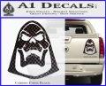 Skeletor Decal Sticker He Man D2 Carbon Fiber Black 120x97