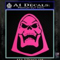 Skeletor Decal Sticker He Man D2 Hot Pink Vinyl 120x120