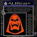 Skeletor Decal Sticker He Man D2 Orange Vinyl Emblem 120x120