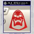 Skeletor Decal Sticker He Man D2 Red Vinyl 120x120