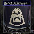 Skeletor Decal Sticker He Man D2 Silver Vinyl 120x120