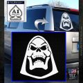 Skeletor Decal Sticker He Man D2 White Emblem 120x120