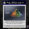 Skynet Skull Decal Sticker Sparkle Glitter Vinyl 120x120