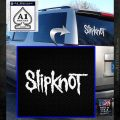 Slipknot Rock Band Vinyl Decal Sticker TXTS White Emblem 120x120