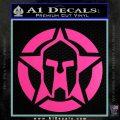 Spartan Ammo Star D1 Decal Sticker Hot Pink Vinyl 120x120