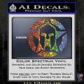 Spartan Ammo Star D1 Decal Sticker Sparkle Glitter Vinyl 120x120