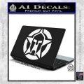 Spartan Ammo Star D1 Decal Sticker White Vinyl Laptop 120x120