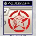 Spartan Ammo Star D2 Decal Sticker Red Vinyl 120x120