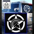 Spartan Ammo Star D2 Decal Sticker White Emblem 120x120