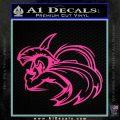 Spartan Fighter Decal Sticker SWSW Hot Pink Vinyl 120x120