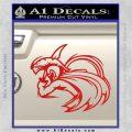 Spartan Fighter Decal Sticker SWSW Red Vinyl 120x120