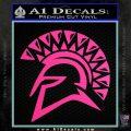 Spartan Helmet D13 Decal Sticker Hot Pink Vinyl 120x120