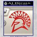 Spartan Helmet D13 Decal Sticker Red Vinyl 120x120