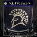 Spartan Helmet D13 Decal Sticker Silver Vinyl 120x120