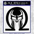 Spartan Omega Helmet Decal Sticker Black Logo Emblem 120x120