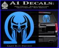 Spartan Omega Helmet Decal Sticker Light Blue Vinyl 120x97